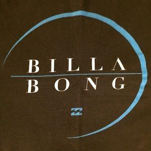 Billabong brown graphic T-shirt Sz L